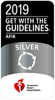 Get With The Guidelines® Atrial Fibrillation Award – Silver