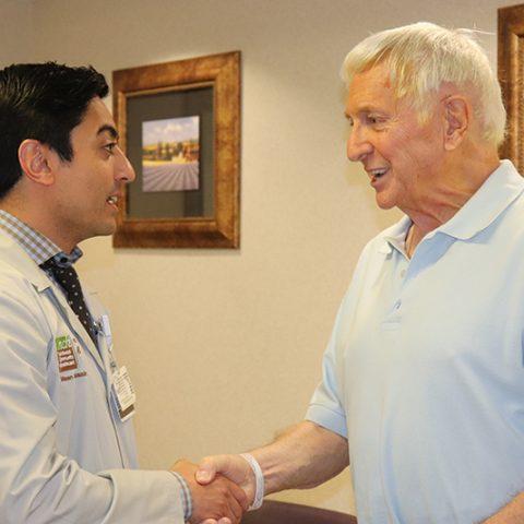 Minimally invasive TAVR procedure repairs patient's heart valve