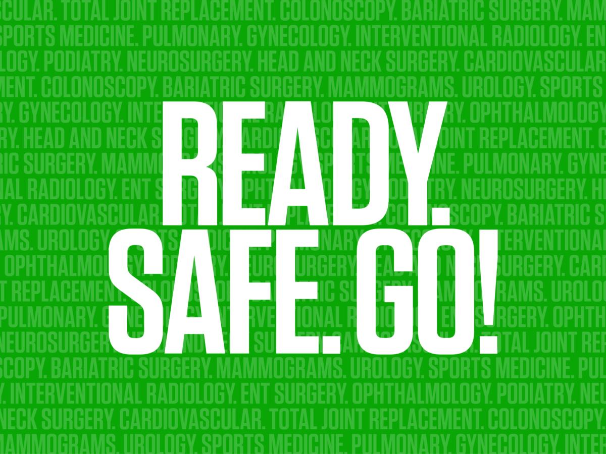 Ready. Safe. Go!