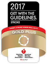 Get With The Guidelines®  Stroke Gold Plus with Target: Stroke Honor Roll Elite